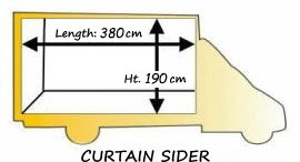 curtain side van