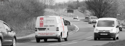 The friendly and experienced couriers at CCS