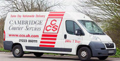 cambridge couriers relay_van