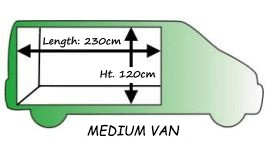 medium sized van