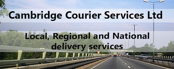 Cambridge Courier Services Ltd - on the road image